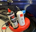Valeting products at Kintore Car Sales